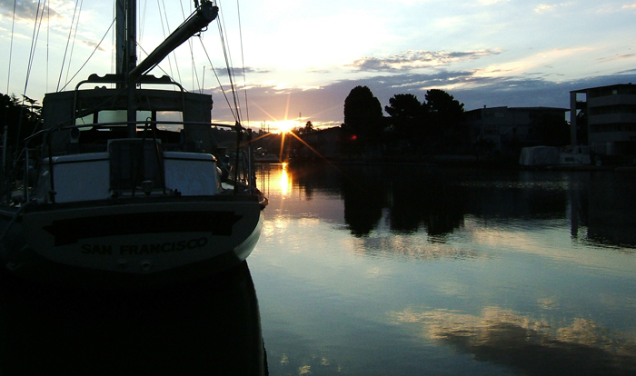 Marin Harbor Photograph
