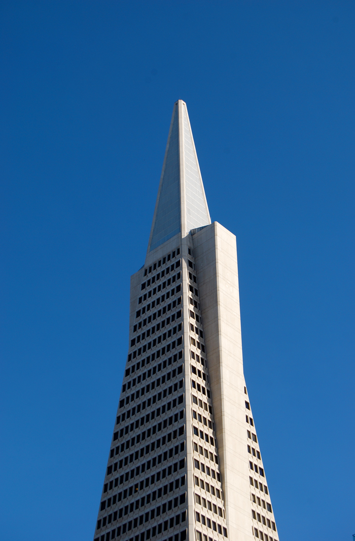 Transamerica Pyramid Building in San Francisco