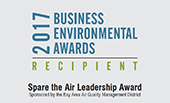 Spare the Air Leadership Award logo