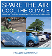 Cover of 2017 Clean Air Plan