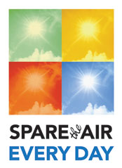 Spare the Air Every Day - Program Logo